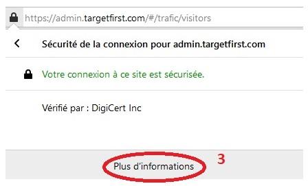 Paramétrage des notifications Firefox